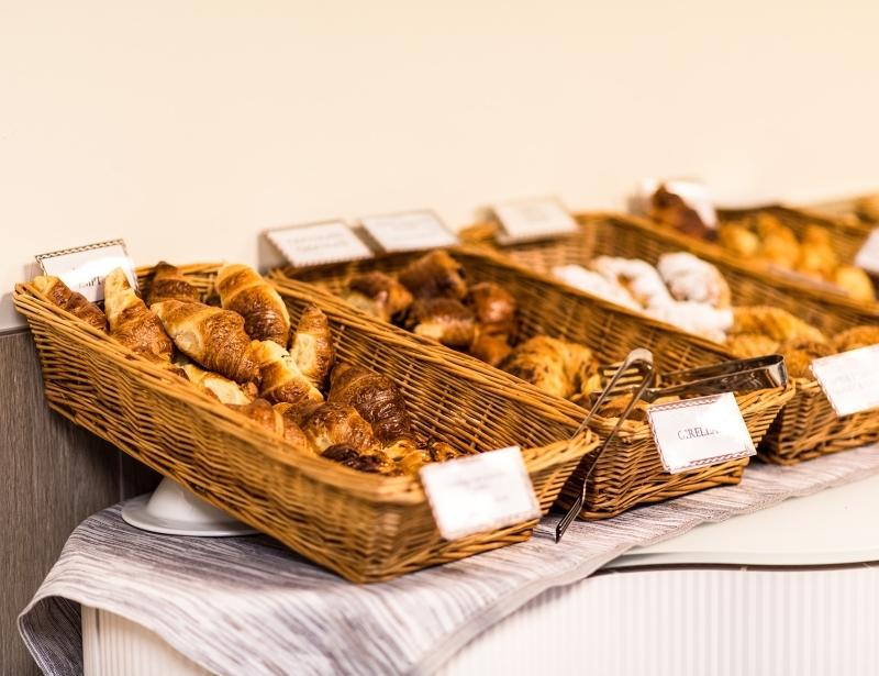 Dettaglio colazione a buffet - Hotel 4 stelle Carpi