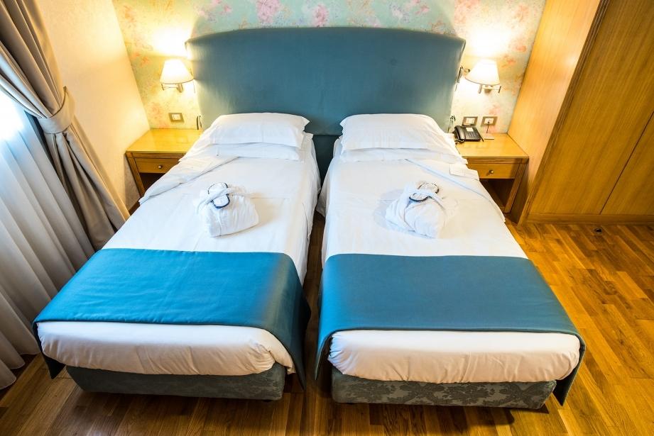 Camera doppia letti separati - Hotel Touring