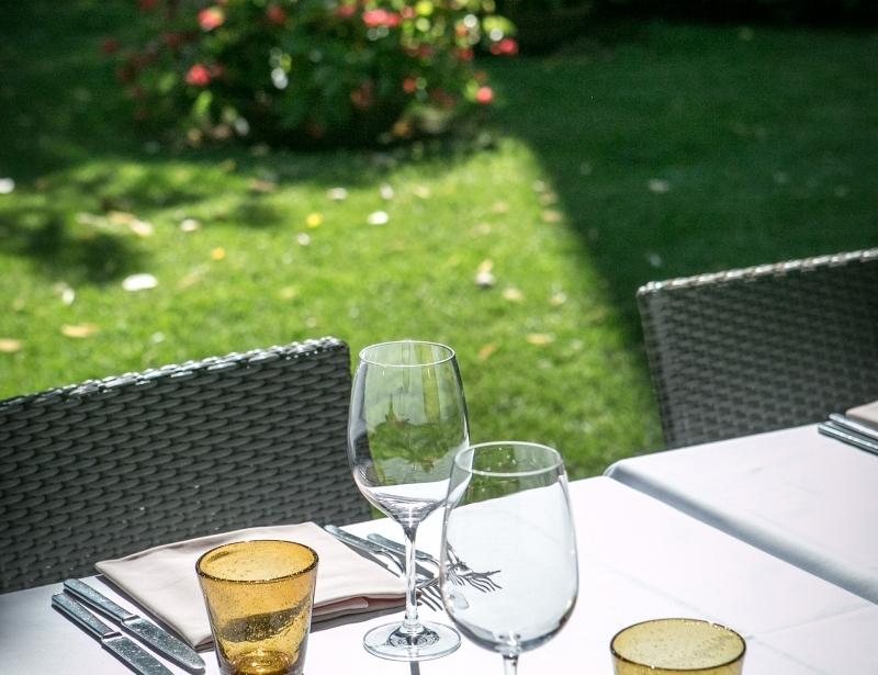 Deliziosi piatti tipici nel ristorante dell'Hotel Touring a Carpi