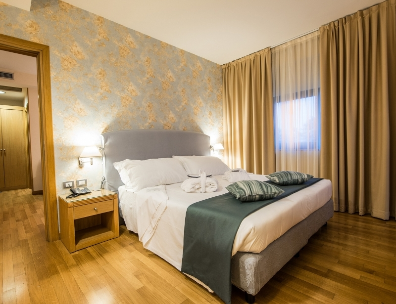 At the 'Hotel Touring in Carpi you'll find amazing suites