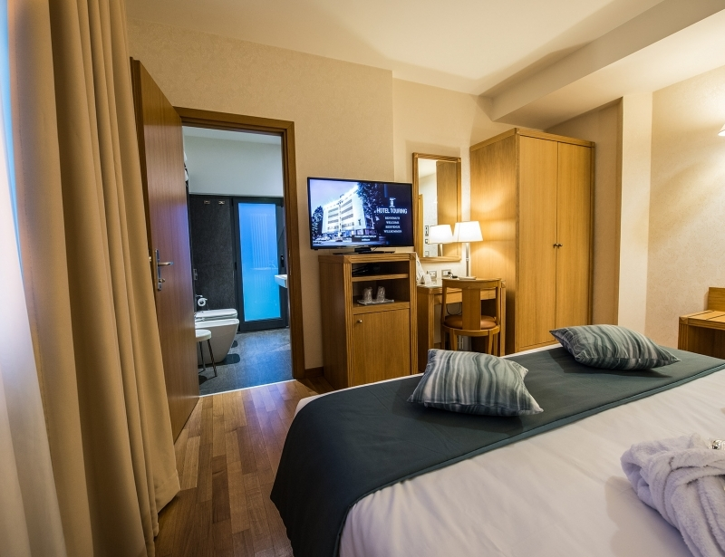 Luxury and comfort in the suite of Hotel Touring in Carpi