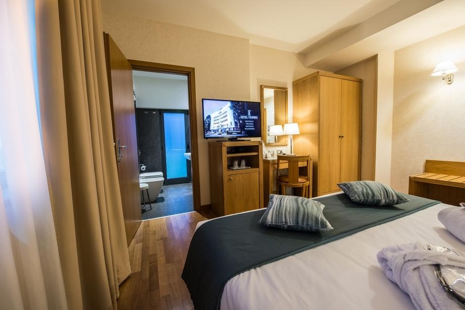 Lusso e comfort nelle suite dell'Hotel Touring a Carpi